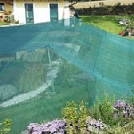 Teichnetz gegen reiher teichabdecknetze gegen fischreiher for Fischteich schutz